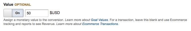 Creating a Conversion Goal in Google Analytics for Drupal Commerce - Step 6c