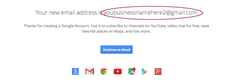 In order to set up a Google Analytics Account you'll need a GMail Account