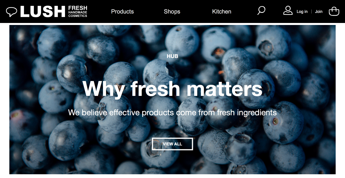 Lush - Drupal Commerce & Acquia Digital Transformation Case Study