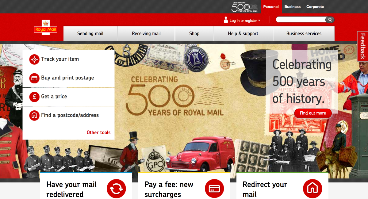 Royal Mail - Drupal Commerce & Acquia Digital Transformation Example
