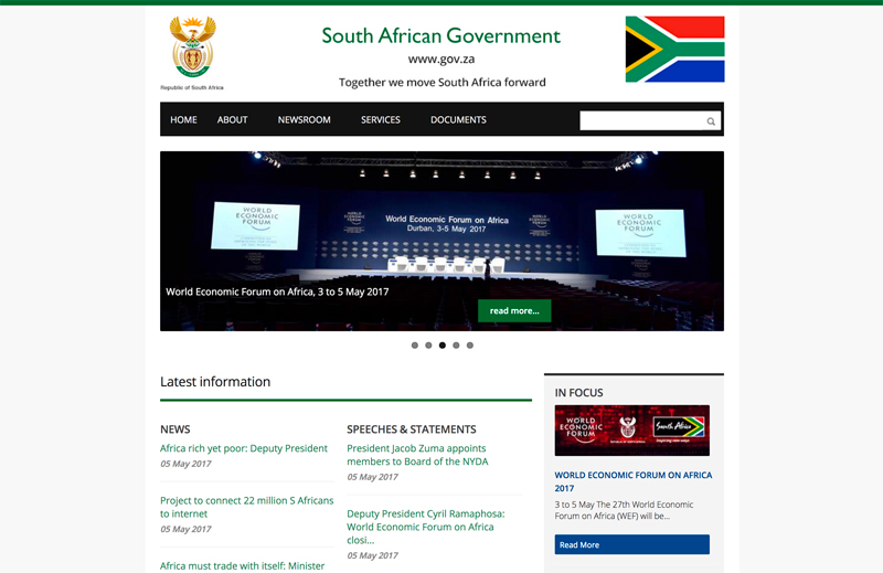 South African Government Uses Drupal
