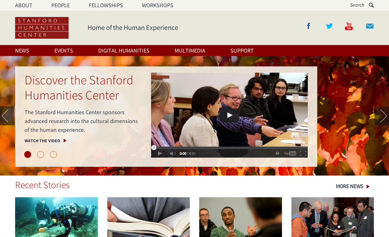 Stanford University Popular Site Using Drupal