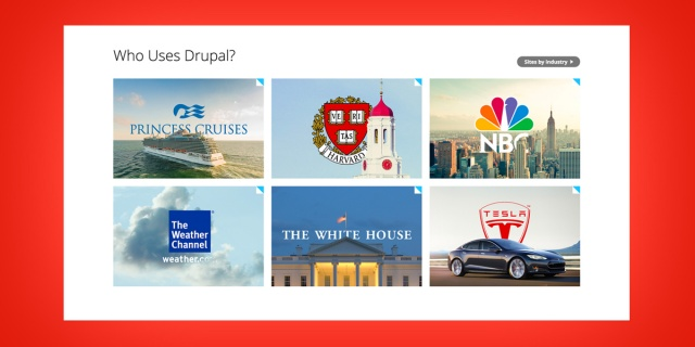 Big Brands Using Drupal