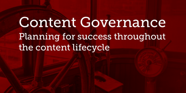 Chris Mickens' Content Governance Presentation on Slideshare