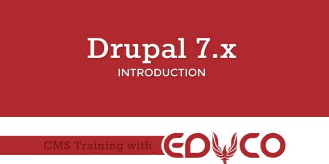 Drupal Training Introduction