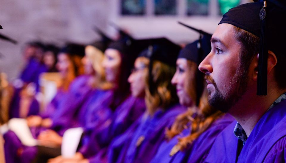 Graduation at Northwestern University's Center for Applied Psychological & Family Studies