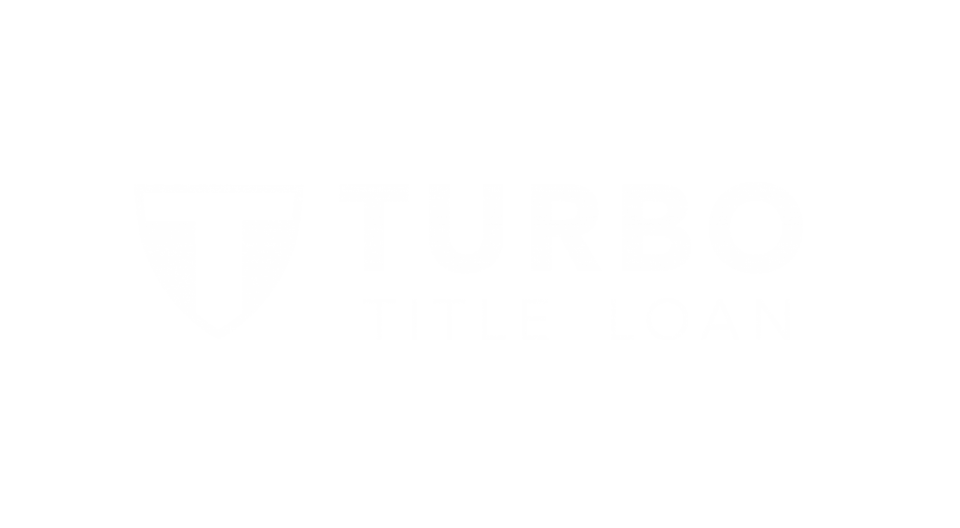 Turbo Title Loan White Logo