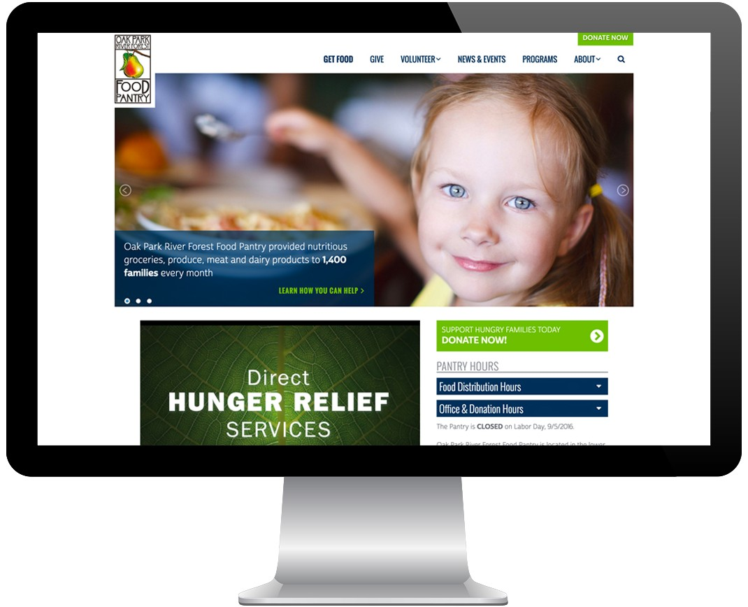 OPRF Food Pantry Screenshot