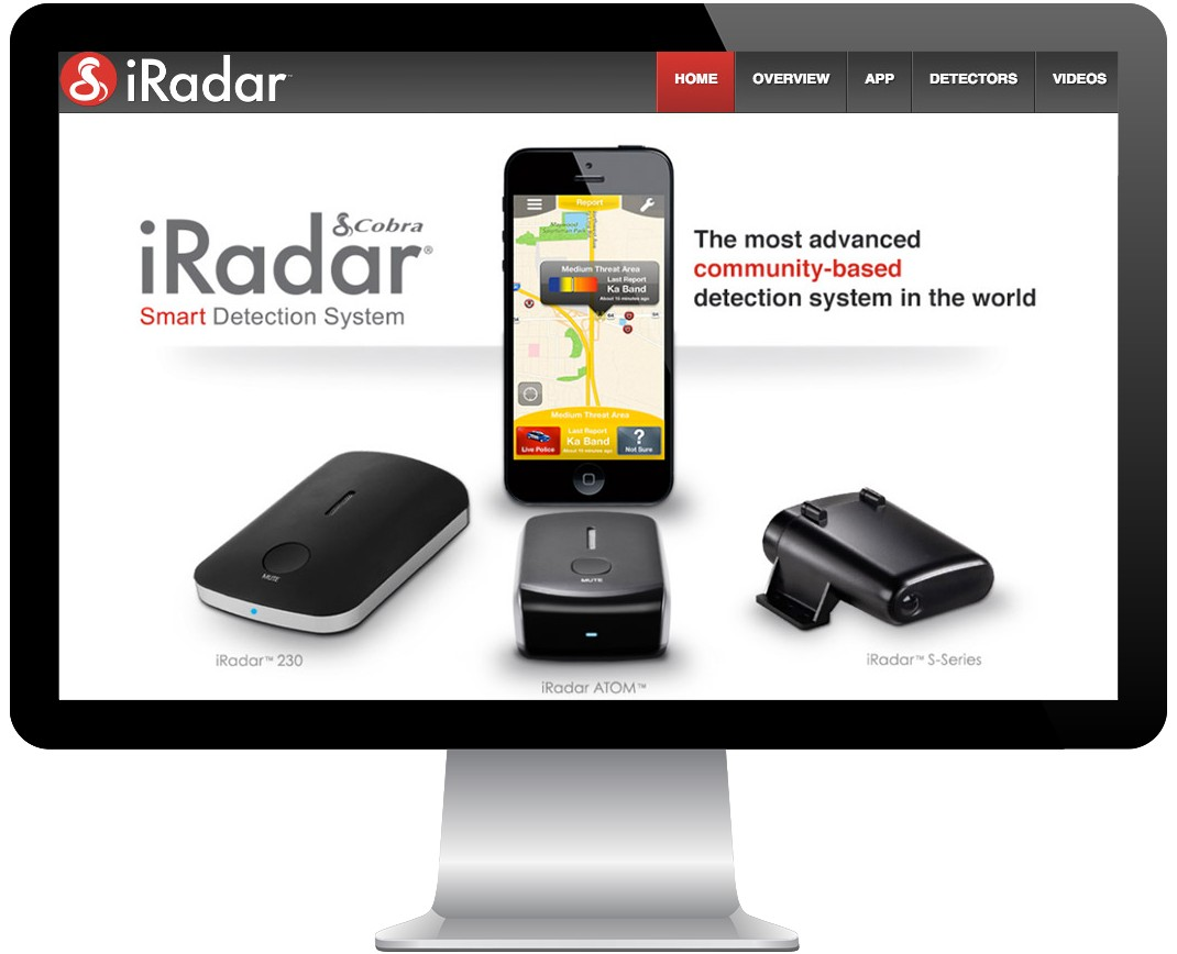 iRadar by Cobra Screenshot