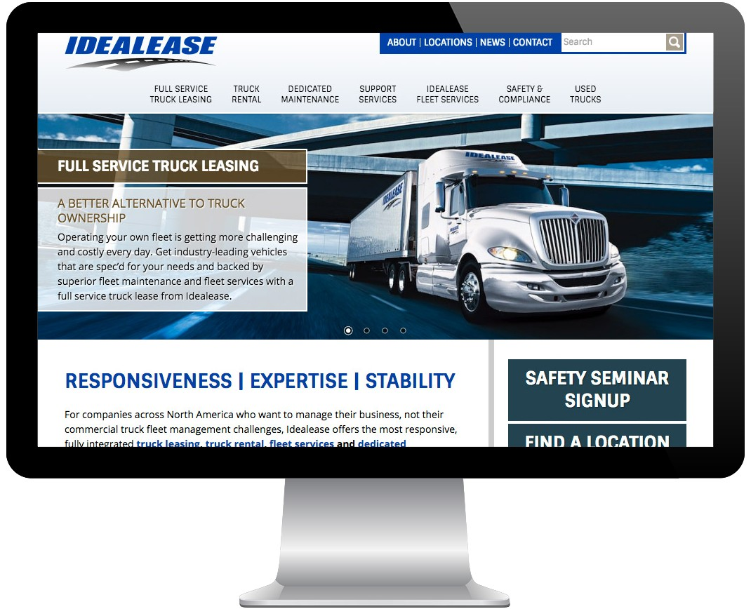 Idealease Inc. Screenshot
