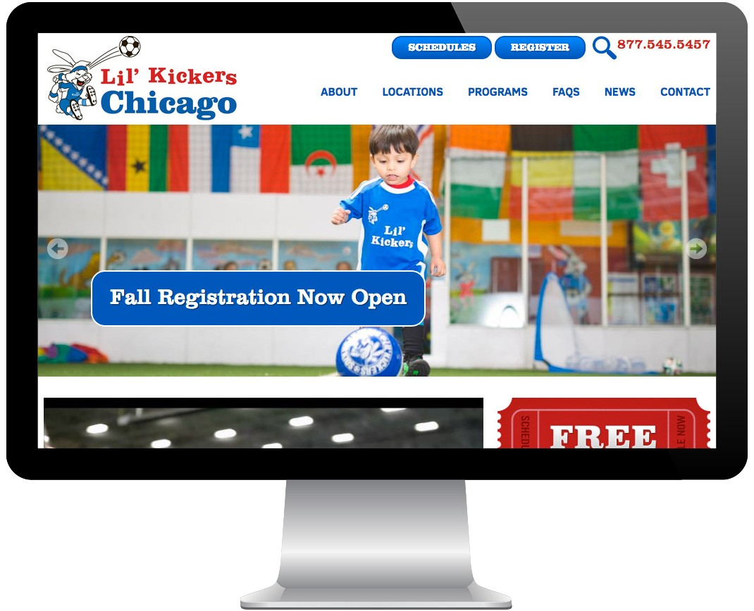 Lil' Kickers Chicago & Twin Cities Screenshot