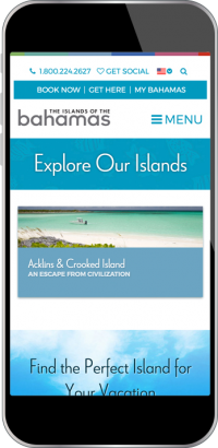 Bahamas.com Screenshot