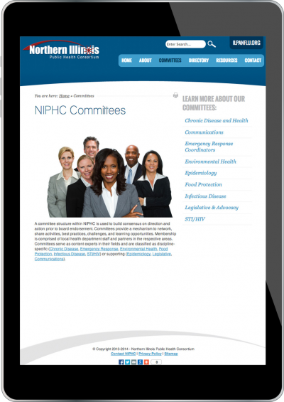 NIPHC Screenshot