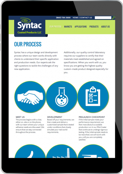 Syntac Coated Products Screenshot