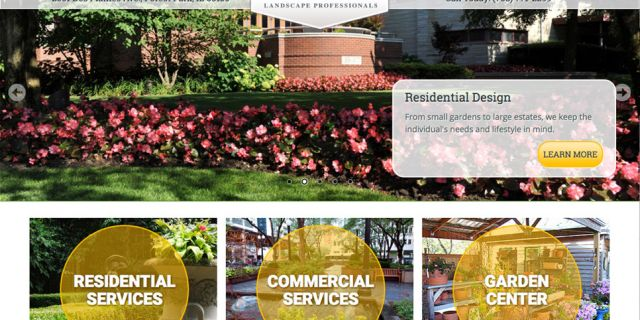 McAdam Landscaping Chicago Drupal Website Redesign