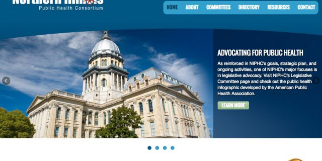Northern Illinois Public Health Consortium Website Redesign