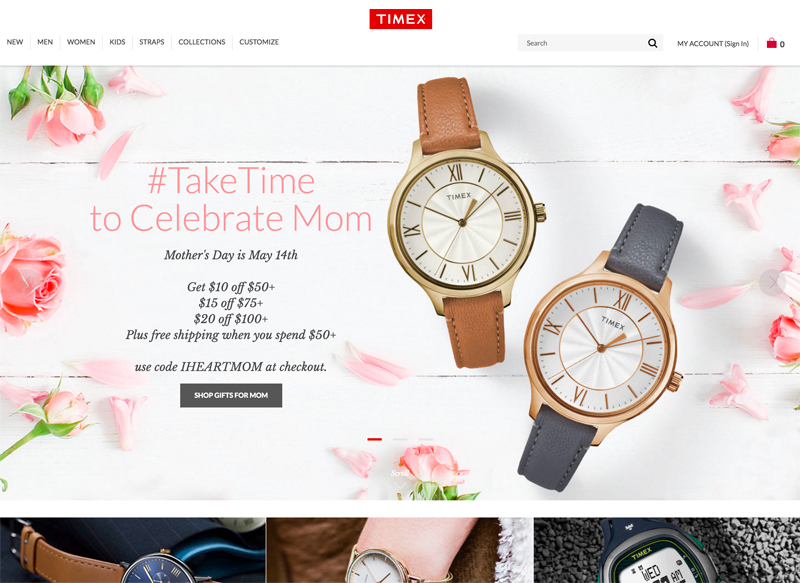 Timex - Using Drupal For their eCommerce Website