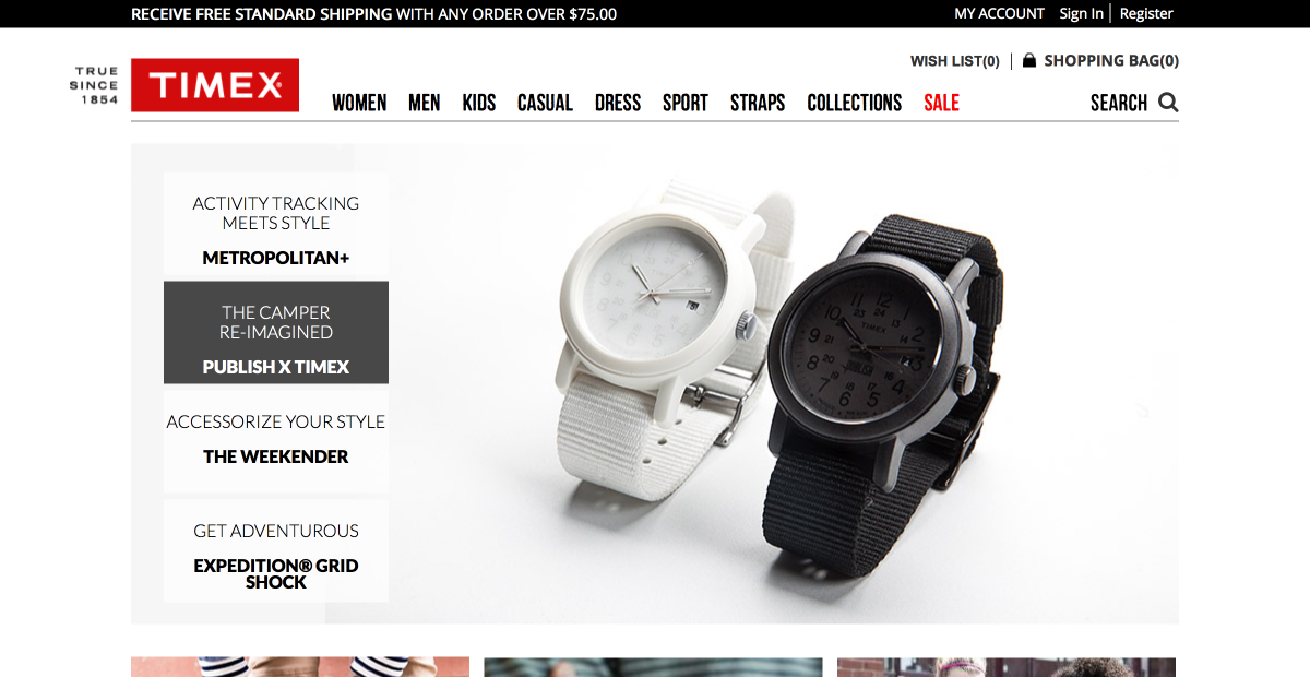Timex - Drupal Commerce Acquia Digital Transformation Case Study