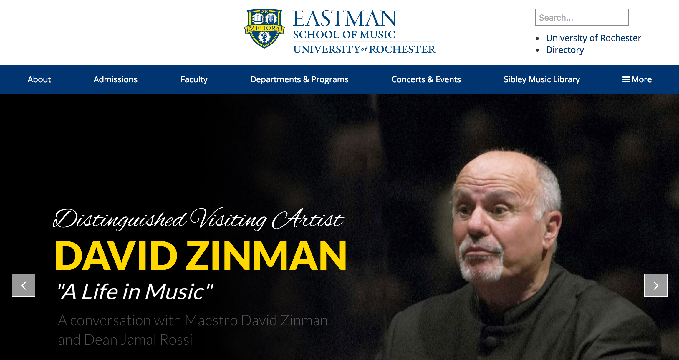 Undergraduate Admissions – Admissions - Eastman School of Music